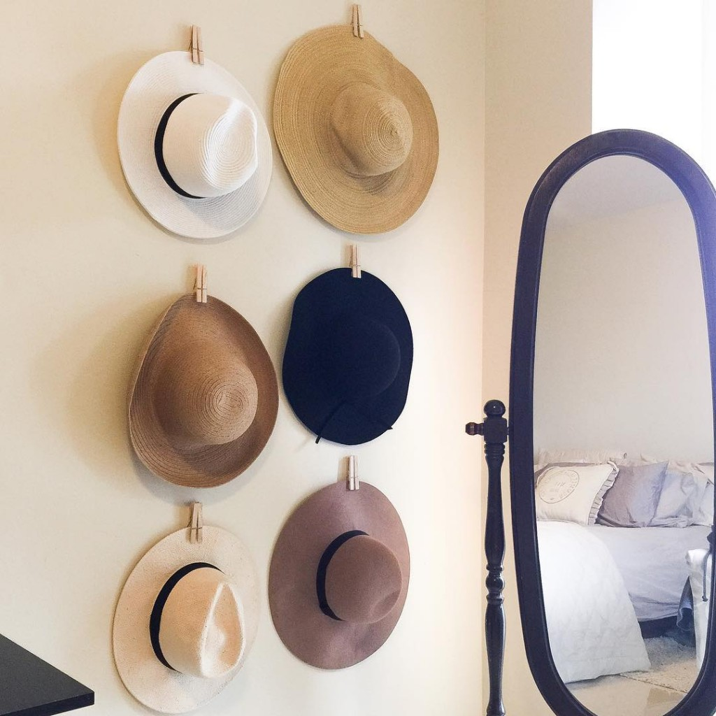 This Saturdays project DIY hat organization I have been lookinghellip