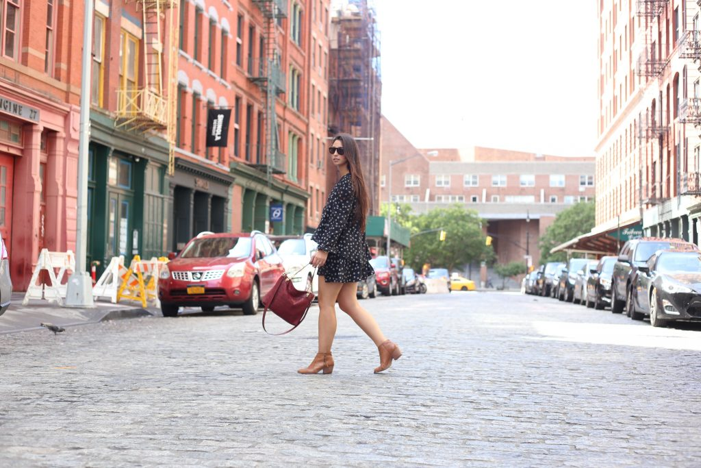 A Fall-Time City Look - Madewell - Free People - BisousBrittany