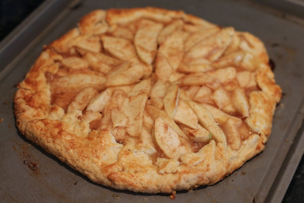 Rustic Pear And Apple Tart