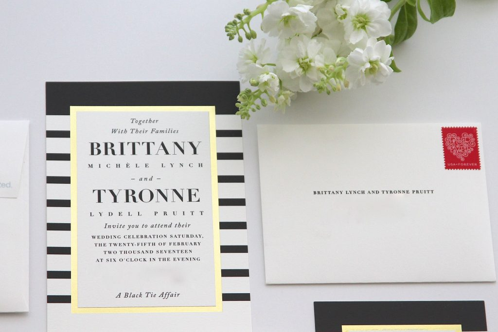Minted - Minted Wedding - Wedding - Wedding Invitations - Black Tie- Black Tie Affair