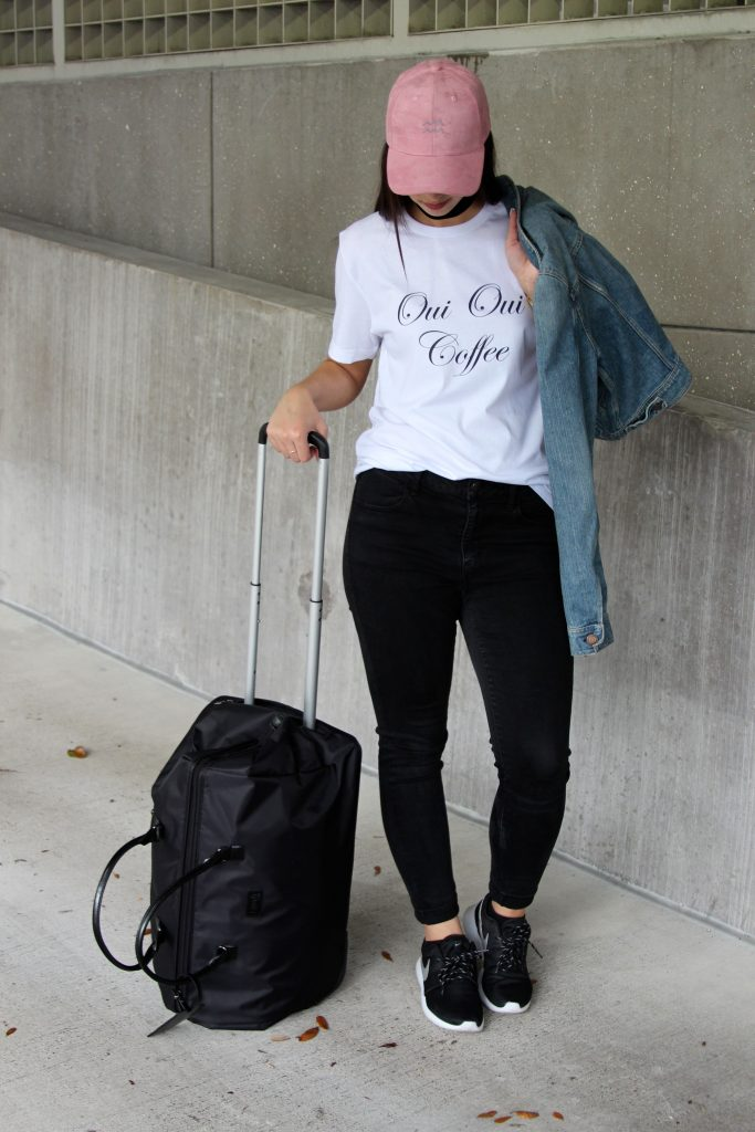 My Casual Travel Look- Val Designs - Bisous Brittany