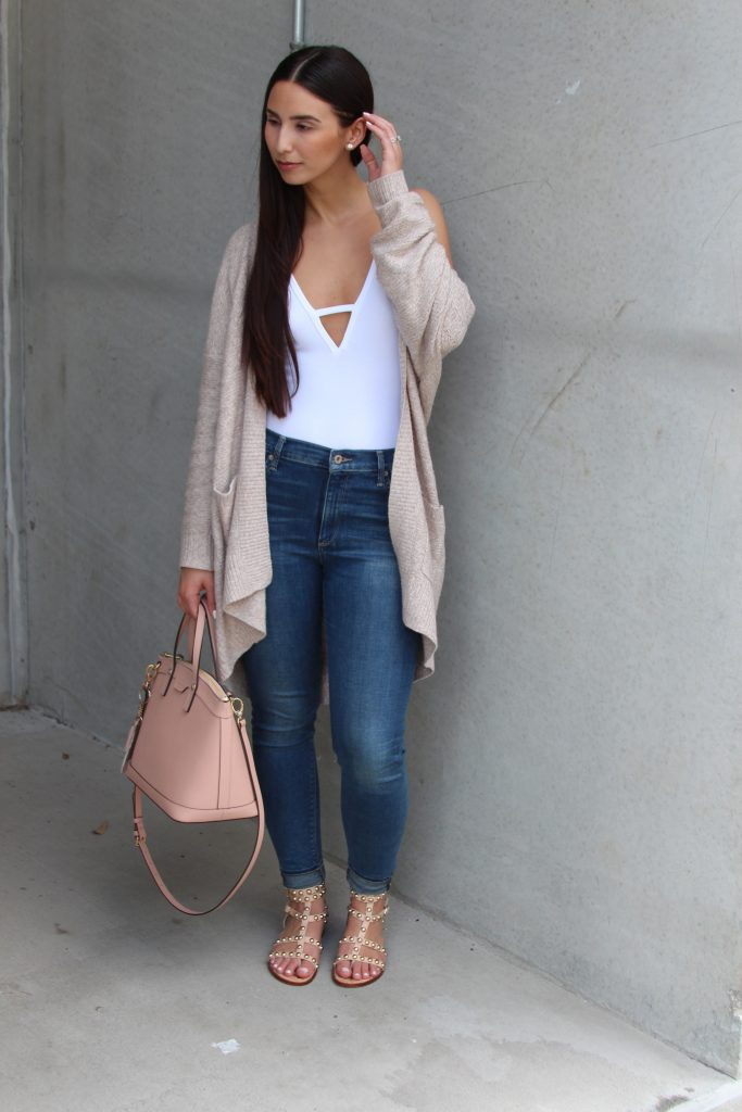 My Casual Style - Cardigan & bodysuit - BisousBrittany - Bisous Brittany