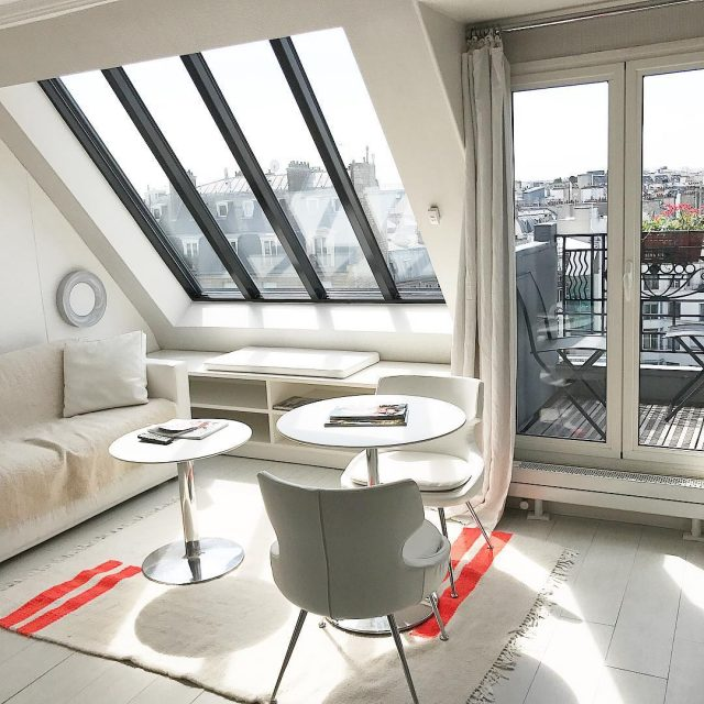 Currently daydreaming about our stay in Paris This room washellip