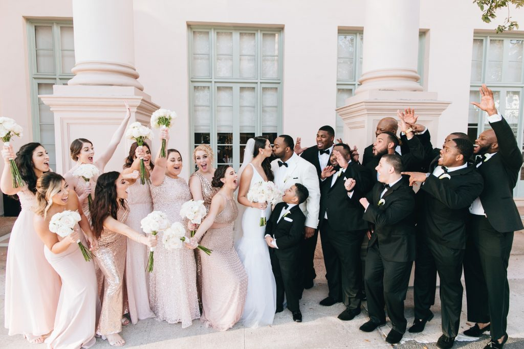 Miami Wedding - Florida Wedding - Hotel Colonnade- Bisous Brittany - BisousBrittany - Bridal Party