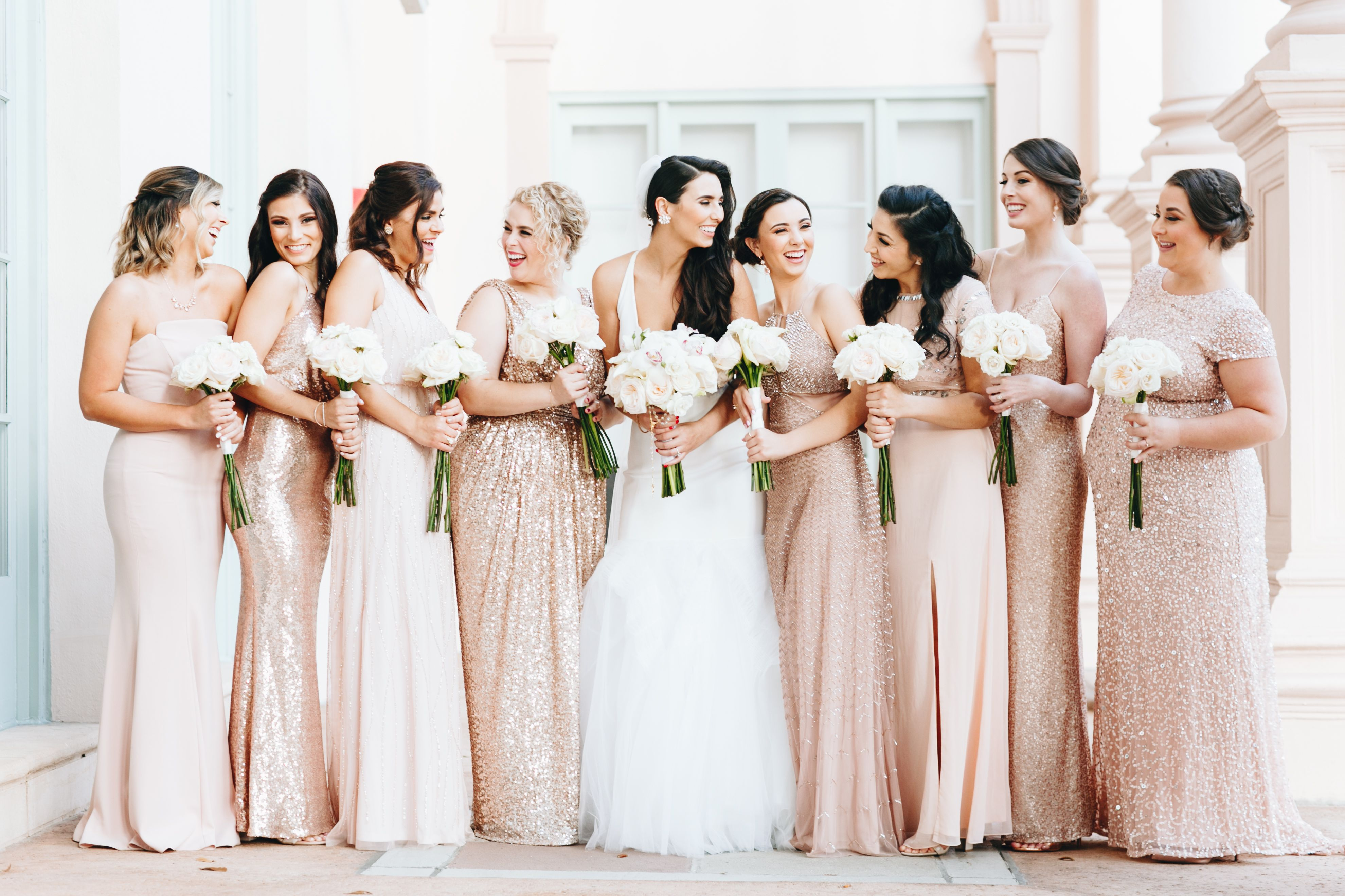 Our wedding day bridesmaid dresses miami wedding florida wedding vera wang bridal bisous brittany bisousbrittany ombrellifo Images