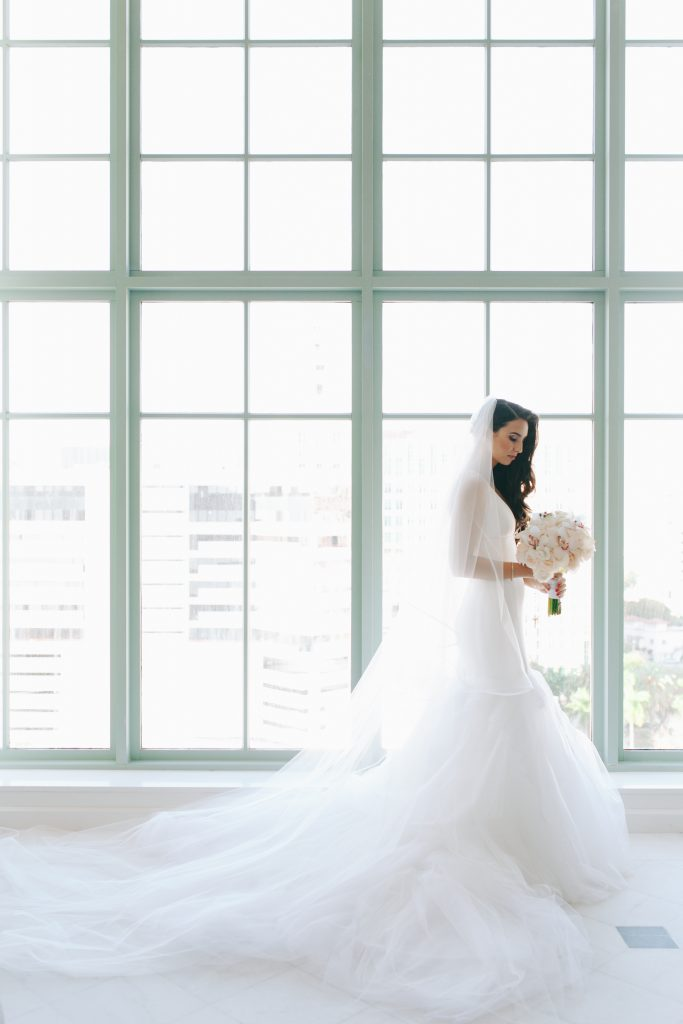 Miami Wedding - Florida Wedding - Vera Wang Bridal - Bisous Brittany - BisousBrittany