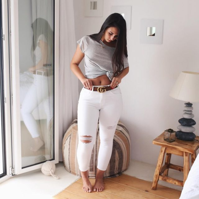 Sometimes simple is best A super soft grey tee andhellip