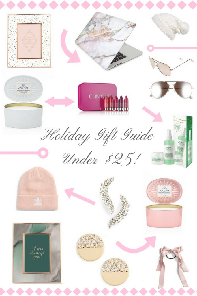 Holiday Gift Guide Under $25 - BisousBrittany - Bisous Brittany
